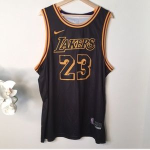 Nike | Lakers Lebron James 23 jersey tank top